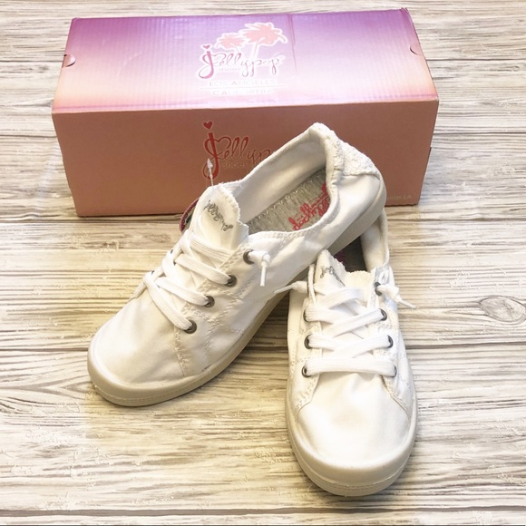 Jellypop Sneakers White Canvas 85